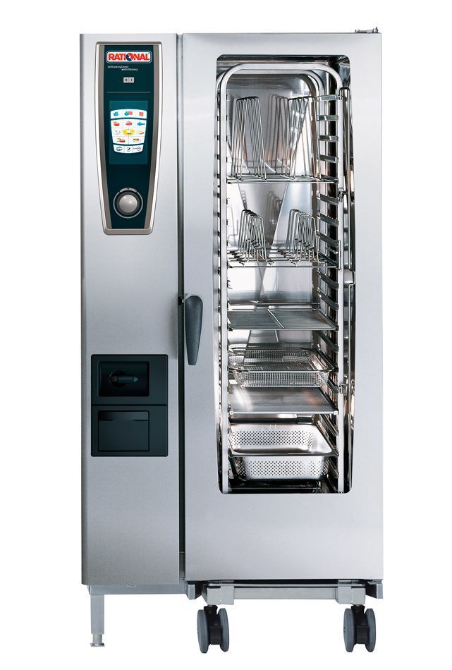 Horno Self Cooking Center Whitefficiency Rational 201